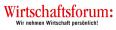 Witrschaftsforum Logo (2)